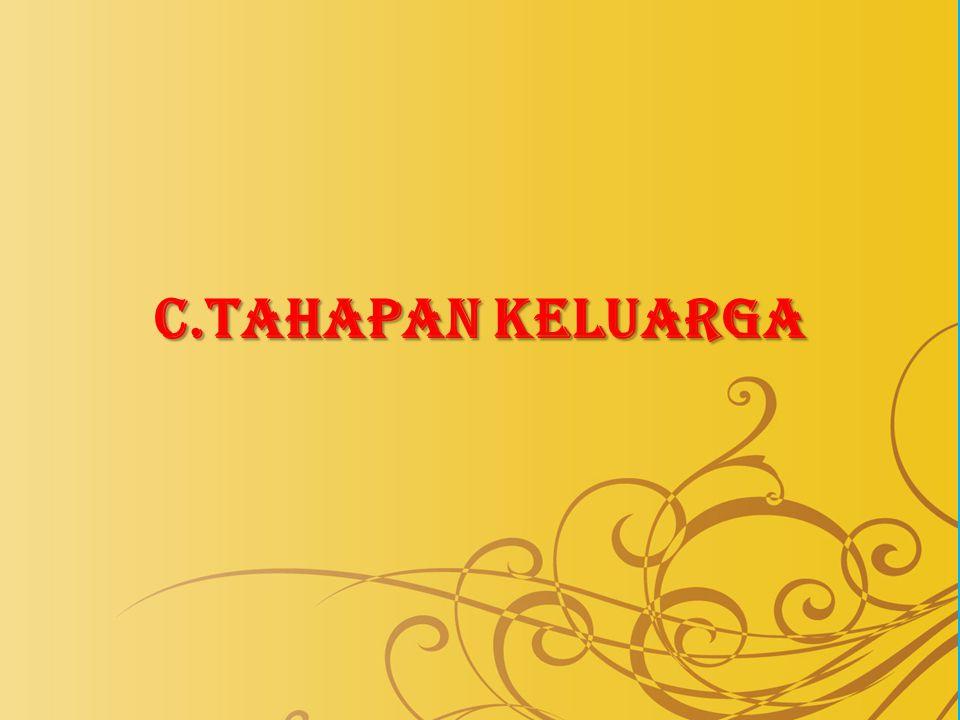 C.TAHAPAN KELUARGA