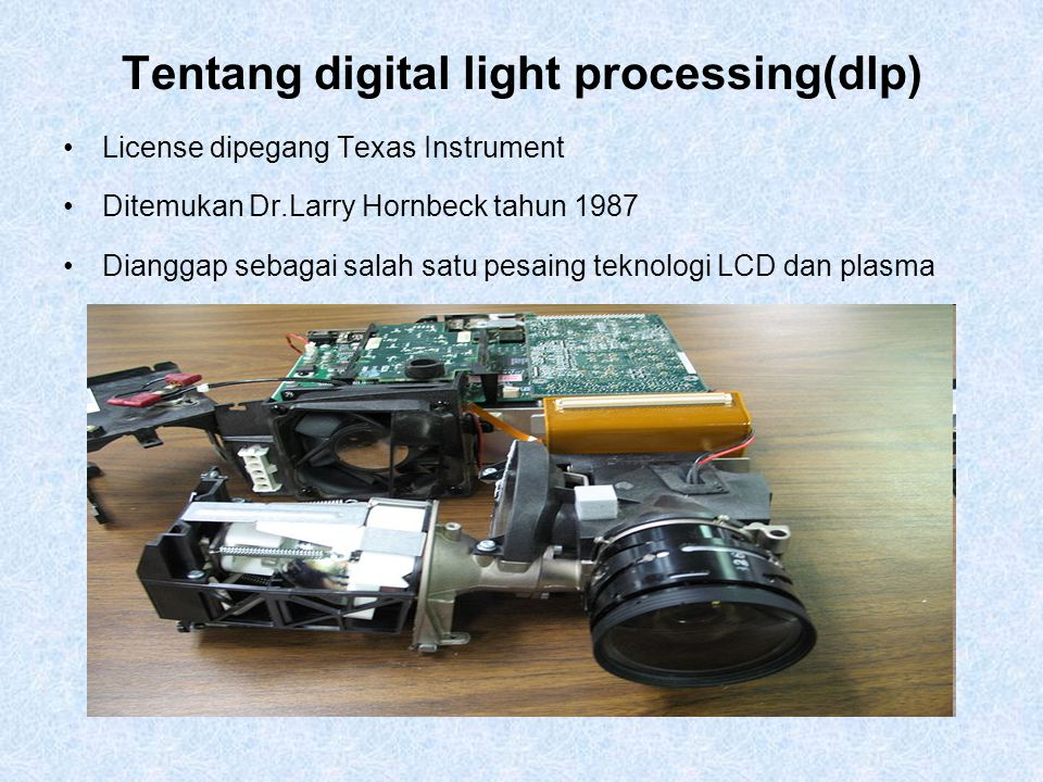 Tentang digital light processing(dlp)