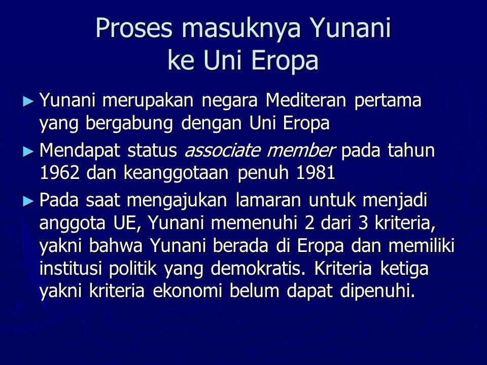 Proses masuknya Yunani ke Uni Eropa