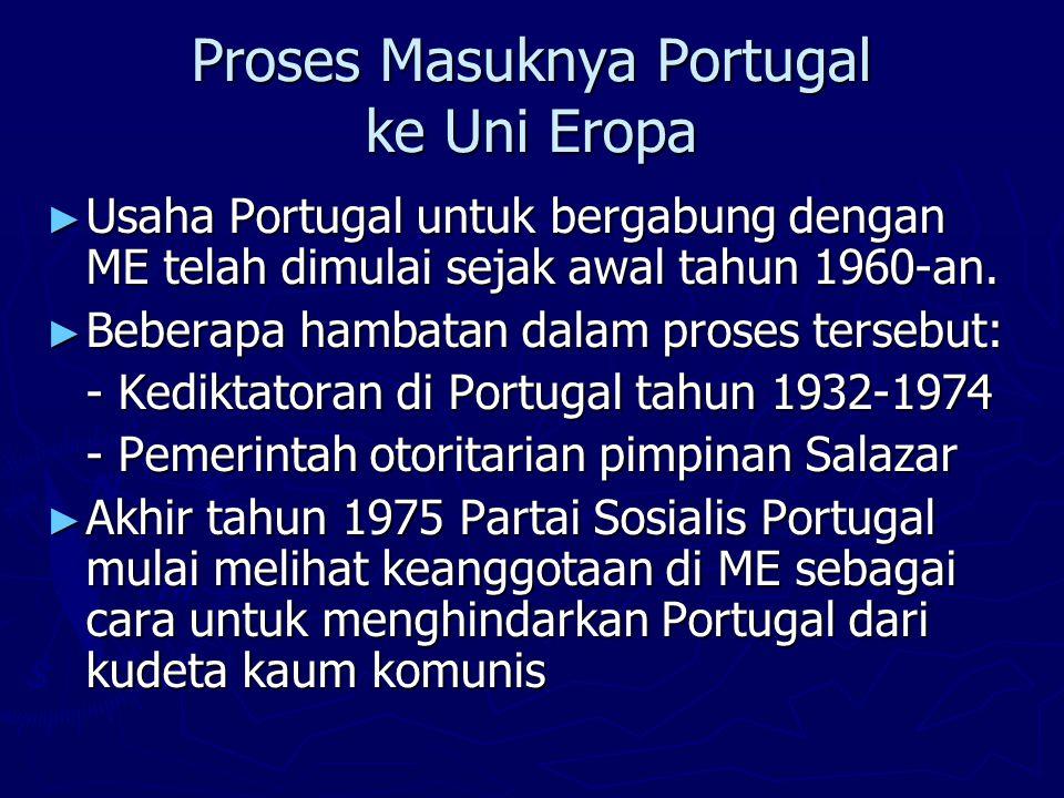 Proses Masuknya Portugal ke Uni Eropa