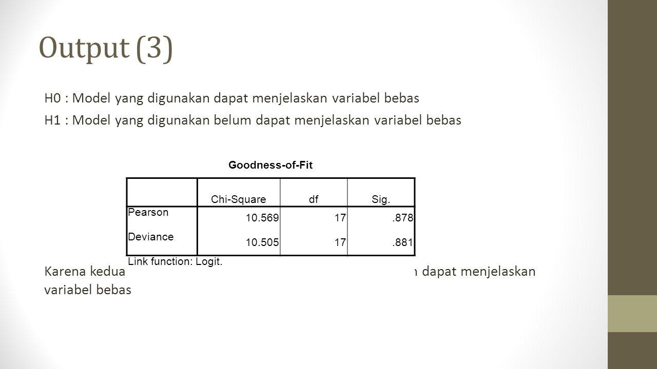 Output (3)