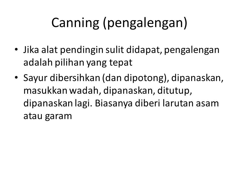 Canning (pengalengan)