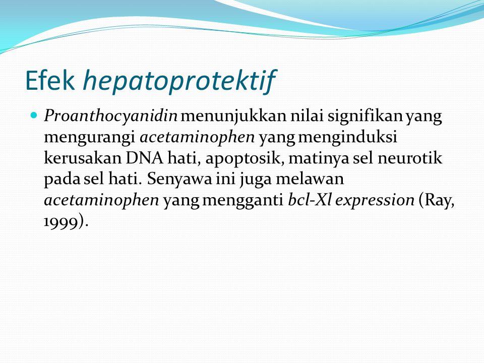 Efek hepatoprotektif