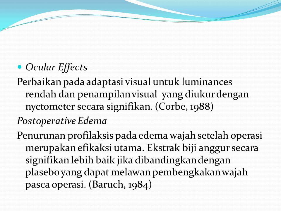 Ocular Effects