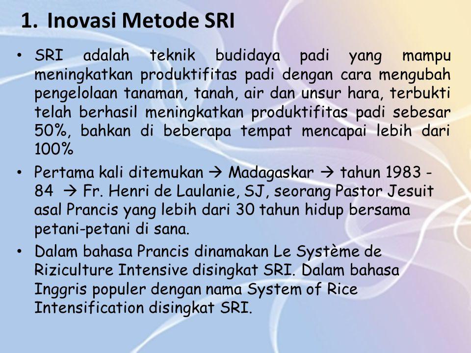 Inovasi Metode SRI