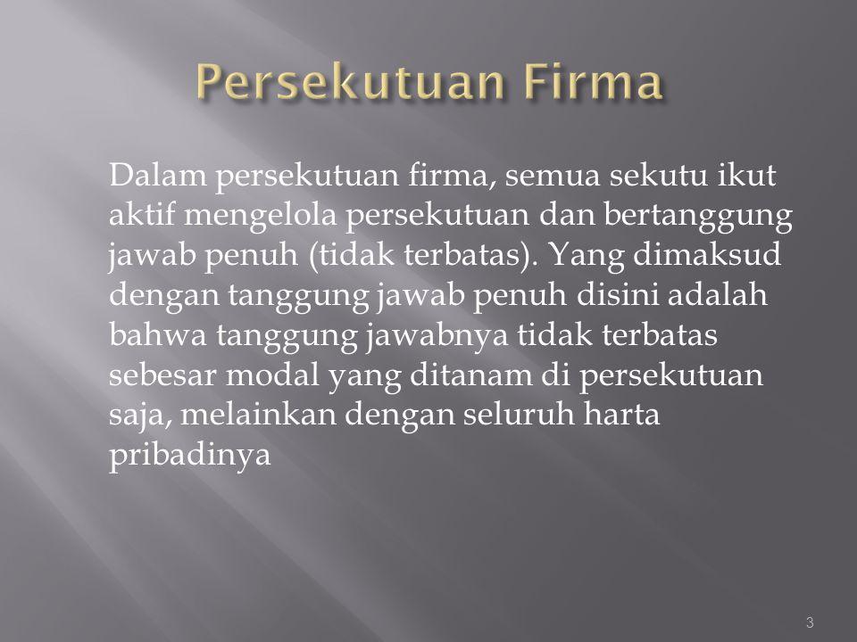 Persekutuan Firma