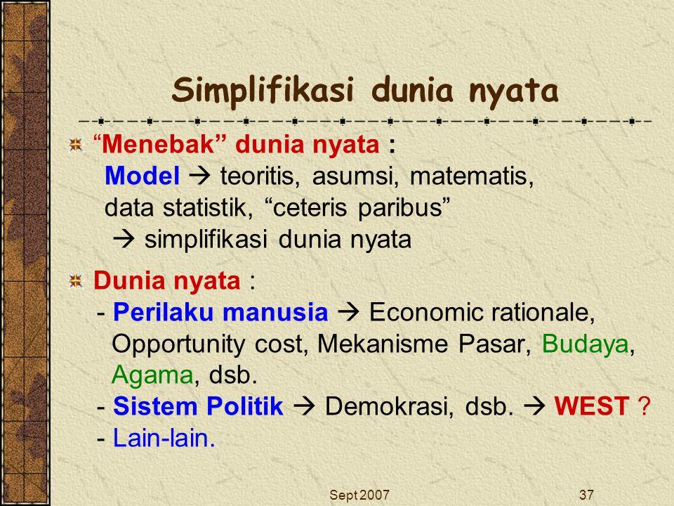 Simplifikasi dunia nyata
