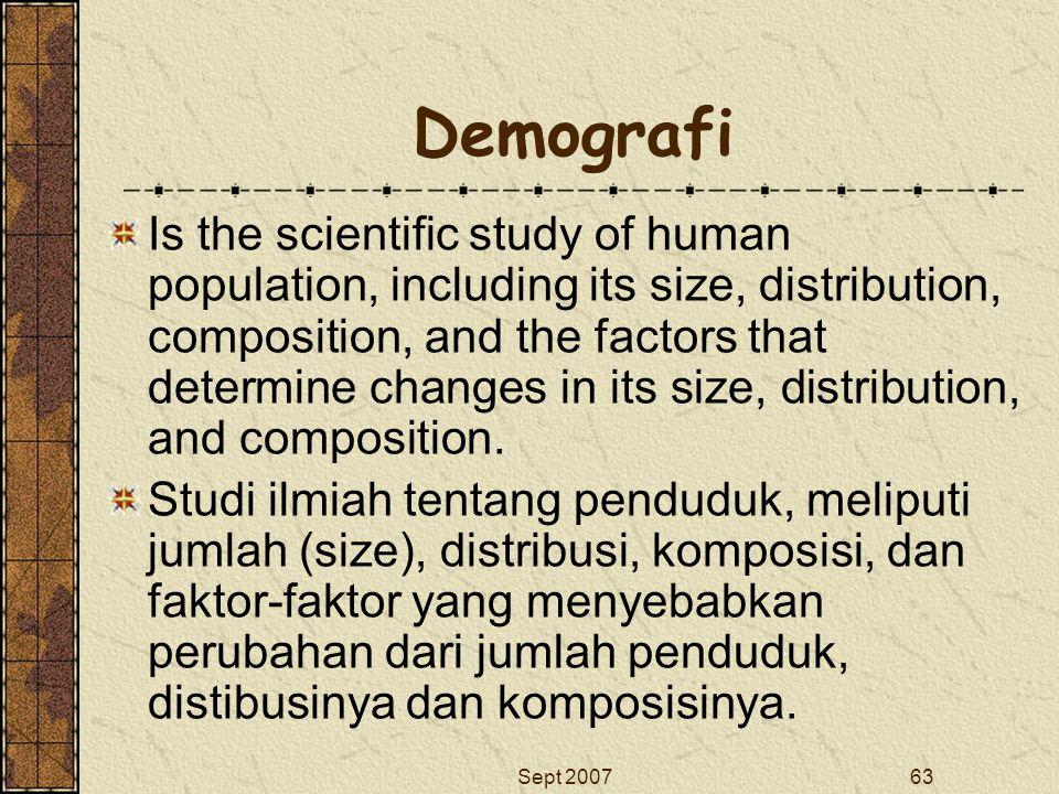 Demografi