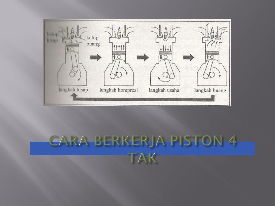 CARA BERKERJA PISTON 4 TAK