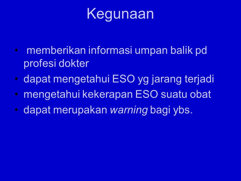 Kegunaan memberikan informasi umpan balik pd profesi dokter