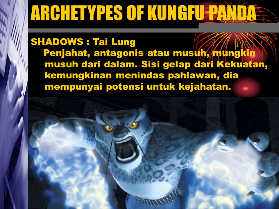 ARCHETYPES OF KUNGFU PANDA