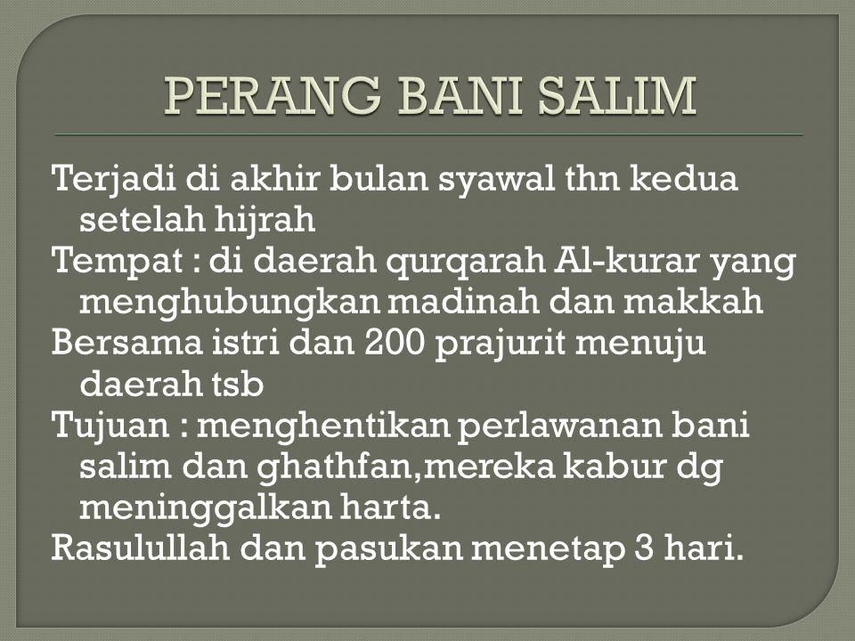 PERANG BANI SALIM