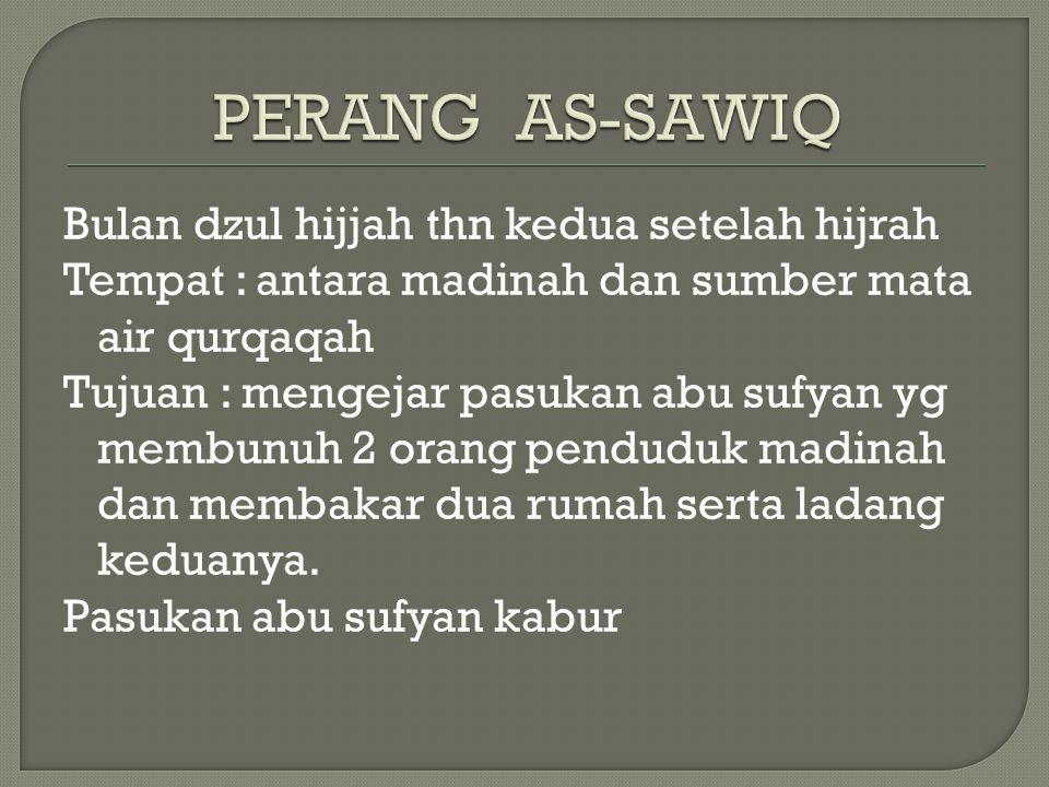 PERANG AS-SAWIQ