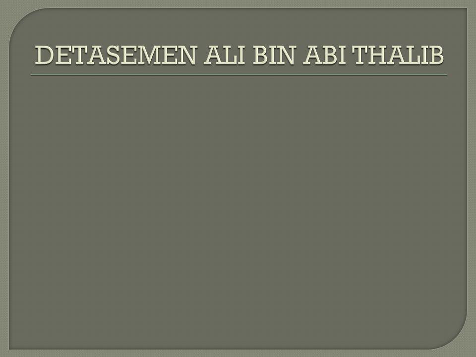 DETASEMEN ALI BIN ABI THALIB