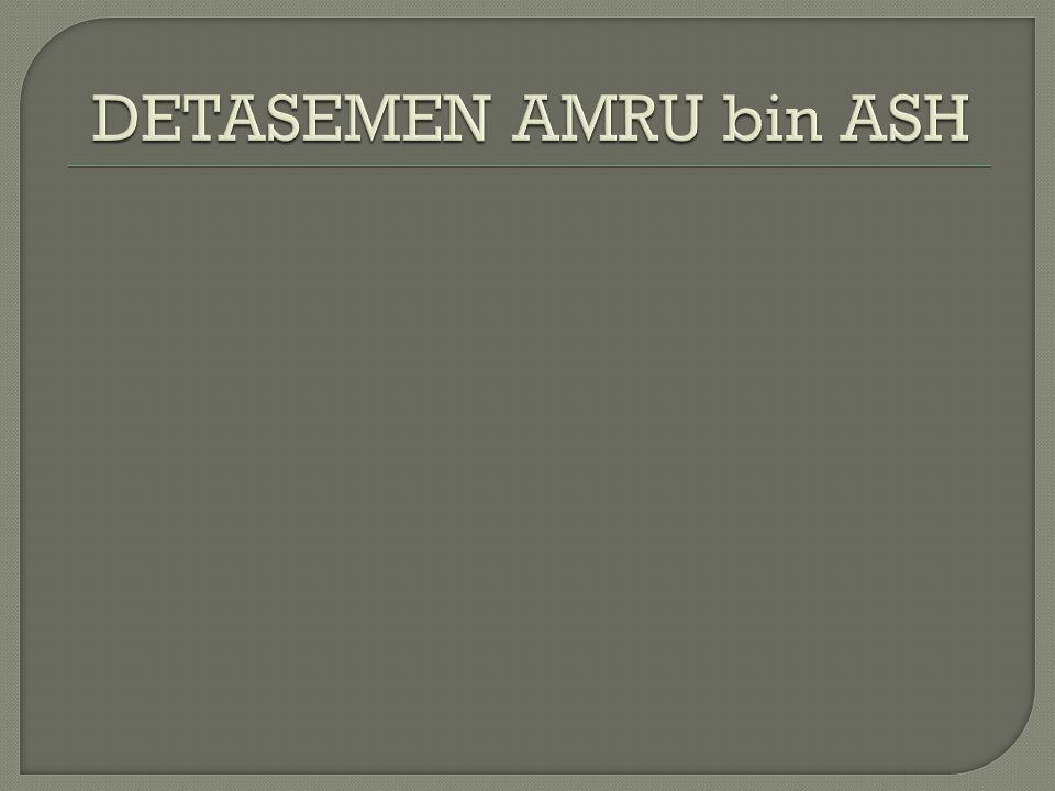 DETASEMEN AMRU bin ASH