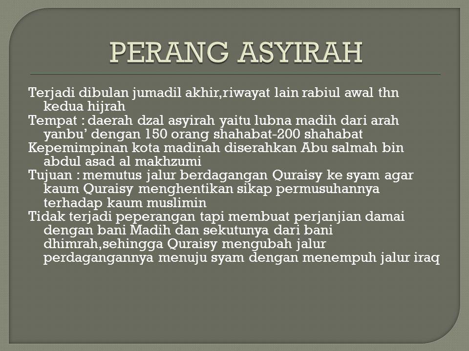 PERANG ASYIRAH