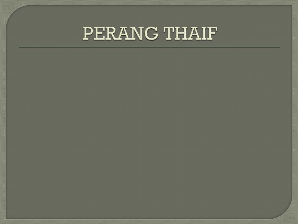PERANG THAIF