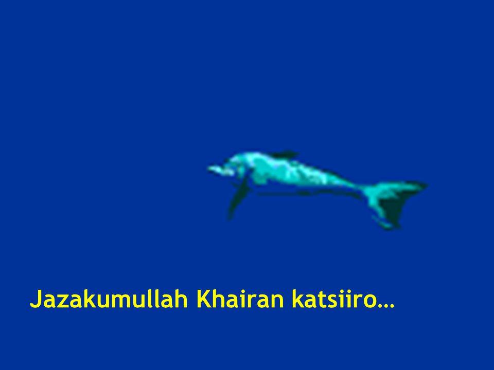 Jazakumullah Khairan katsiiro…