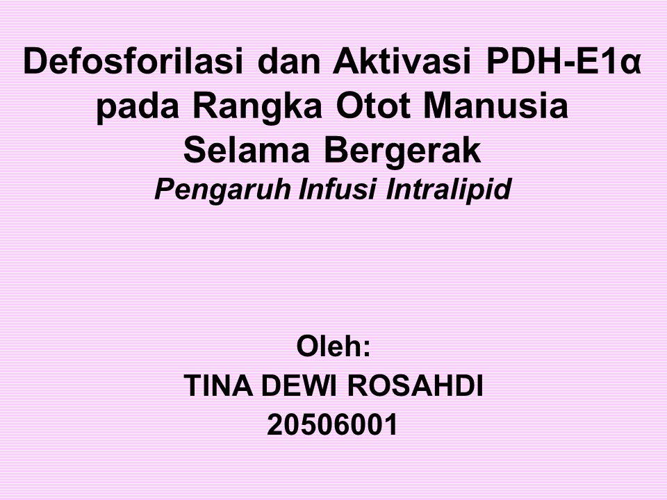 Oleh: TINA DEWI ROSAHDI 20506001
