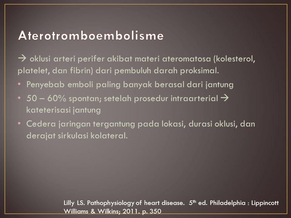 Aterotromboembolisme
