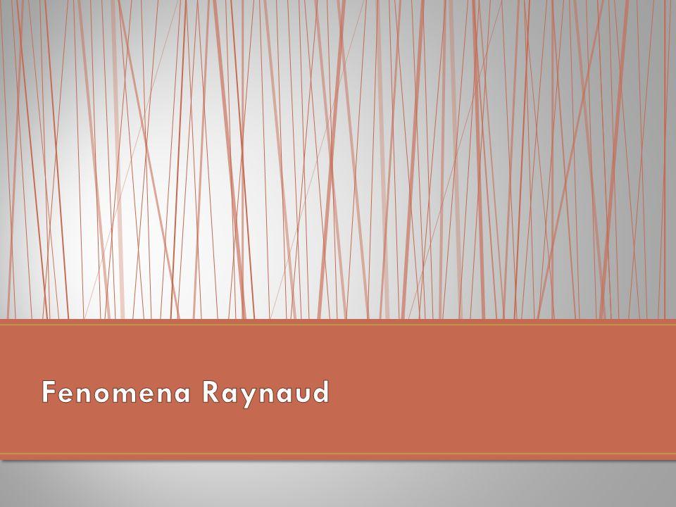 Fenomena Raynaud