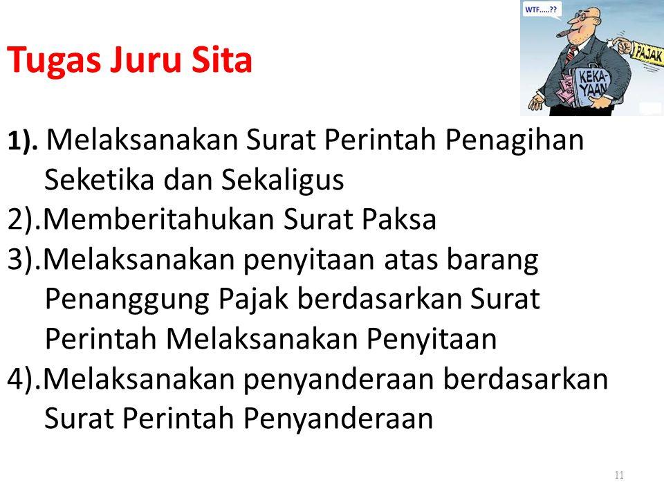 Tugas Juru Sita 1).