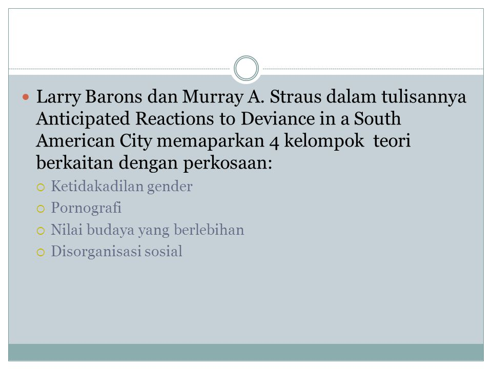 Larry Barons dan Murray A