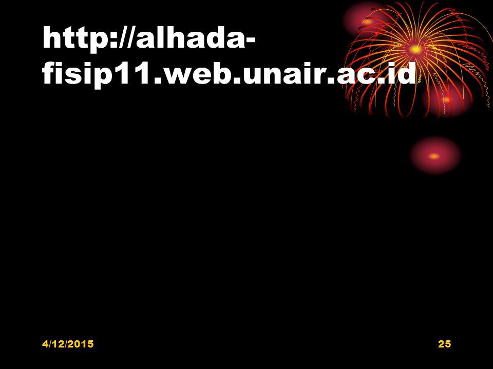 http://alhada-fisip11.web.unair.ac.id 4/11/2017