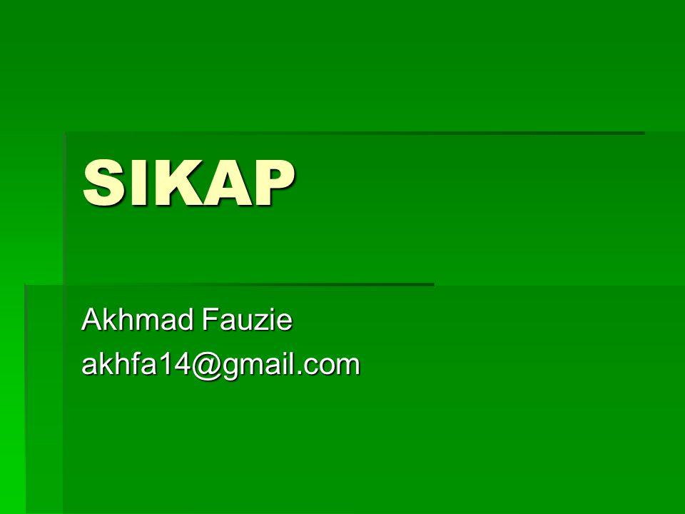 Akhmad Fauzie akhfa14@gmail.com