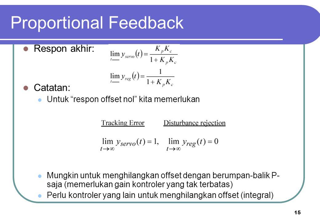 Proportional Feedback