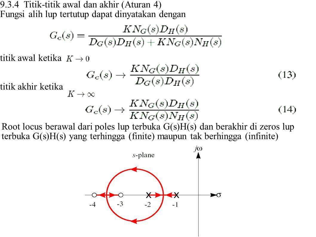 9.3.4 Titik-titik awal dan akhir (Aturan 4)