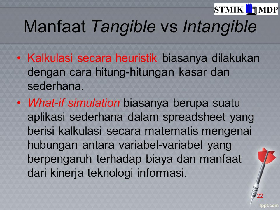 Manfaat Tangible vs Intangible