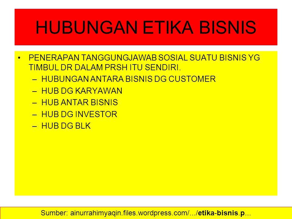Sumber: ainurrahimyaqin.files.wordpress.com/.../etika-bisnis.p...