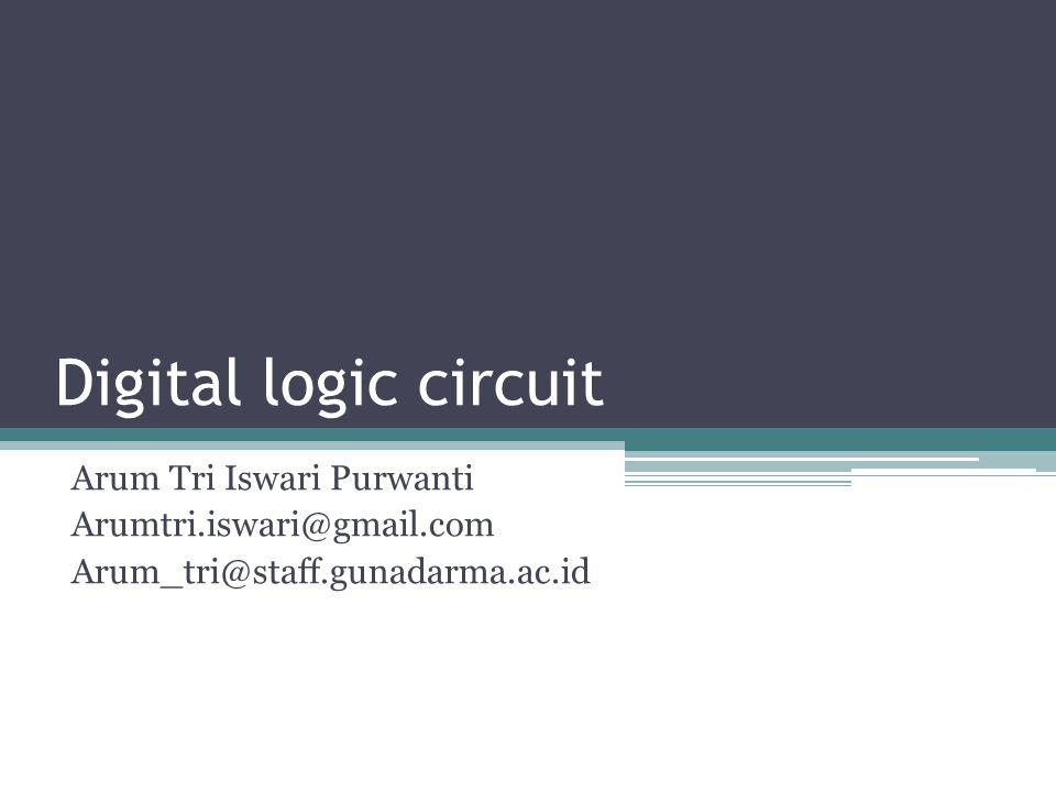 Digital logic circuit Arum Tri Iswari Purwanti