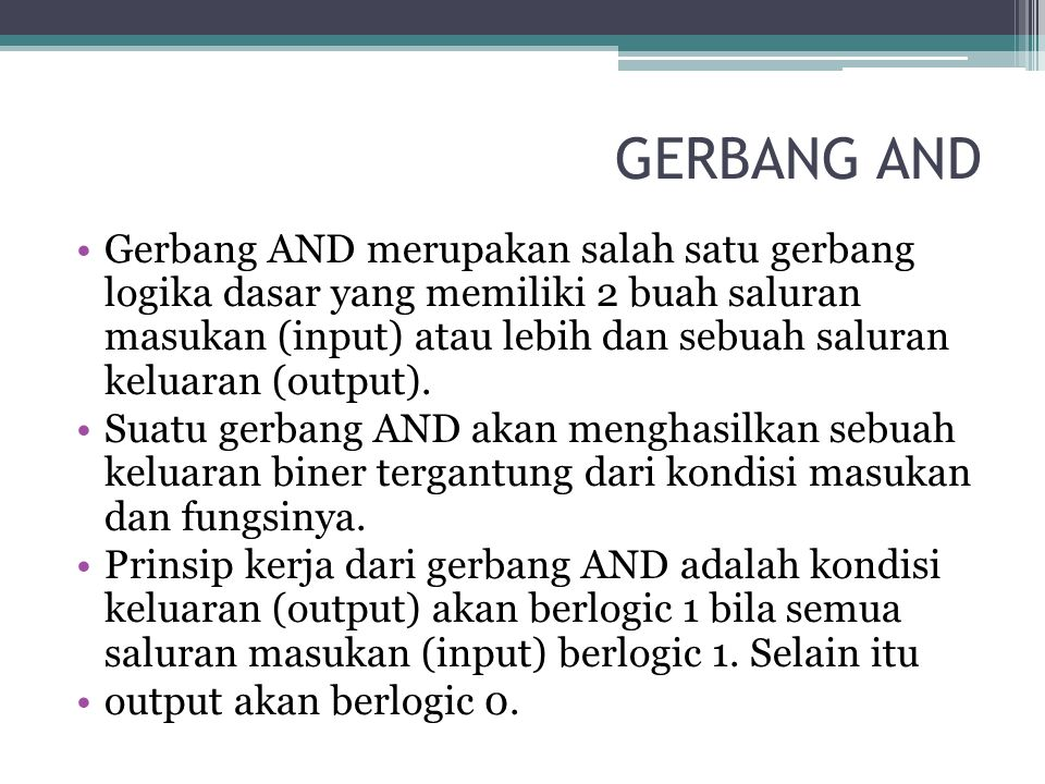 GERBANG AND