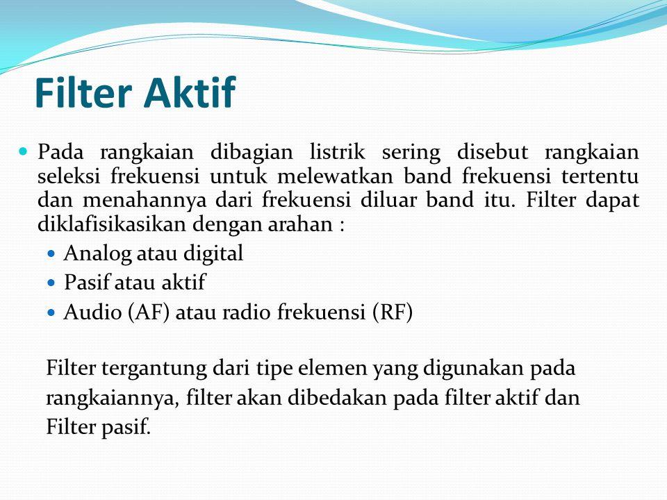 Filter Aktif