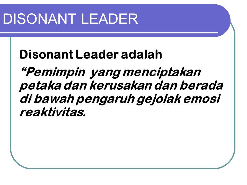 DISONANT LEADER Disonant Leader adalah
