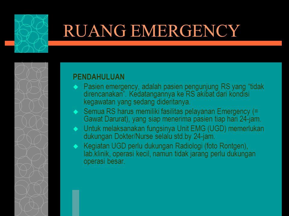 RUANG EMERGENCY PENDAHULUAN