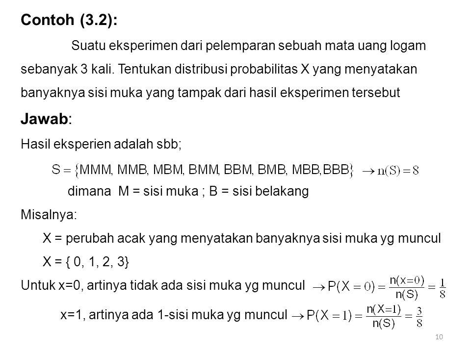 Contoh (3.2):
