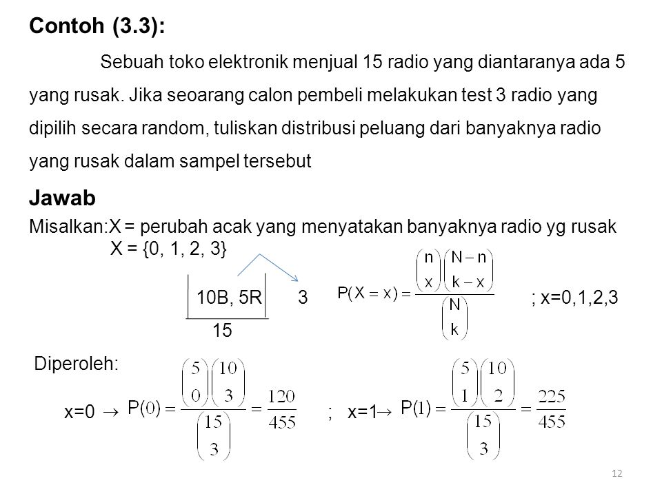 Contoh (3.3):