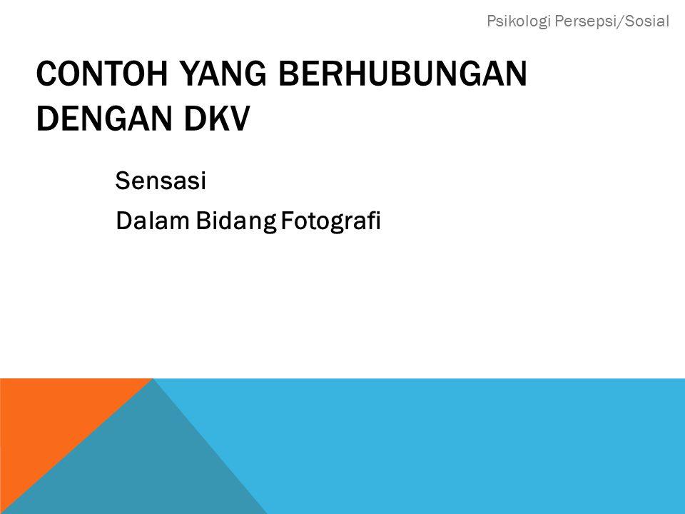Contoh yang Berhubungan dengan DKV