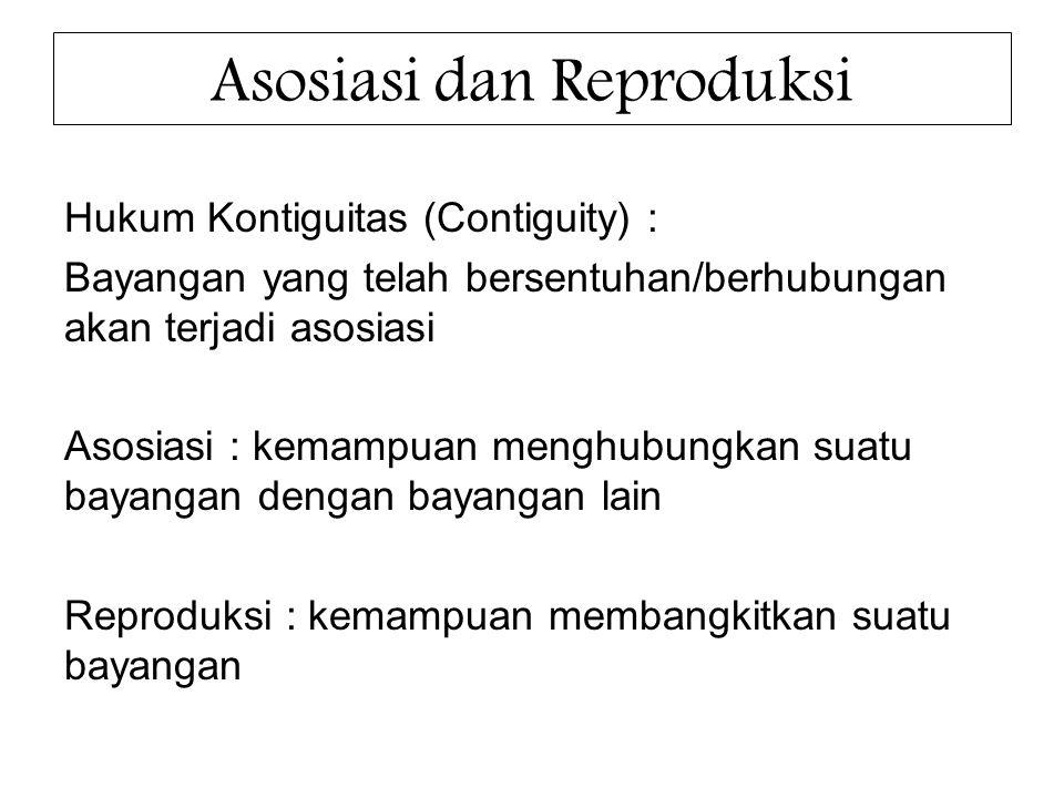 Asosiasi dan Reproduksi