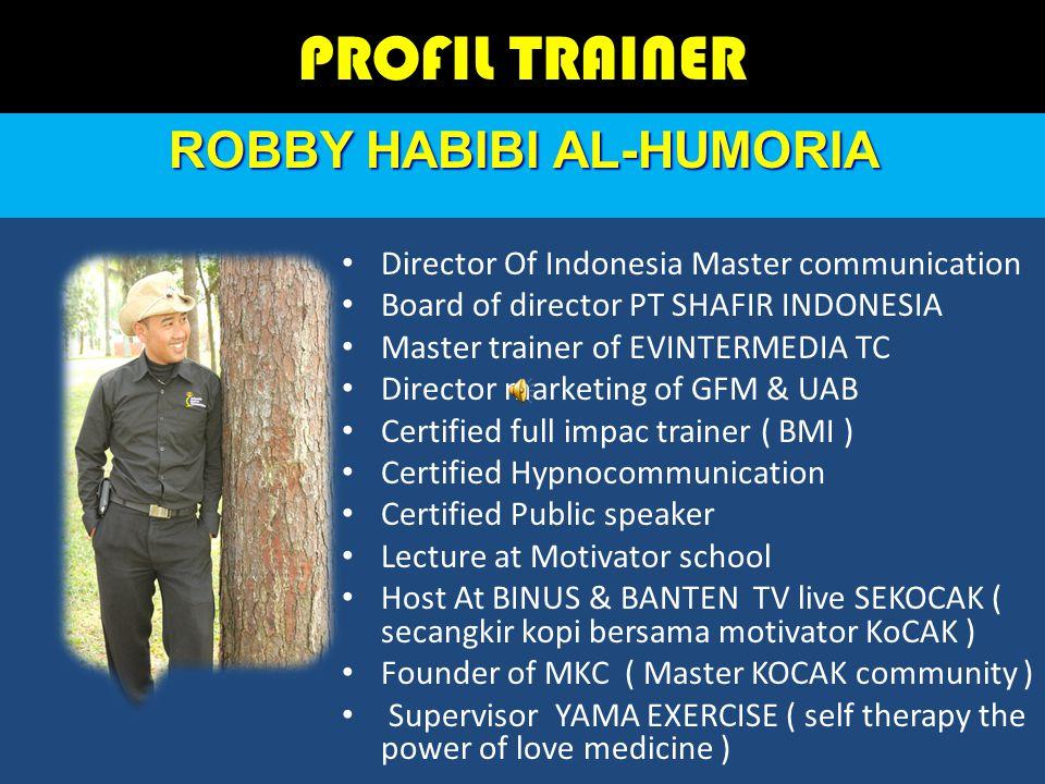 ROBBY HABIBI AL-HUMORIA