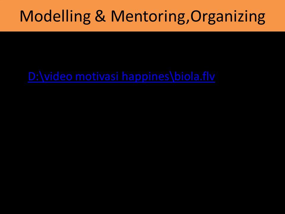 Modelling & Mentoring,Organizing