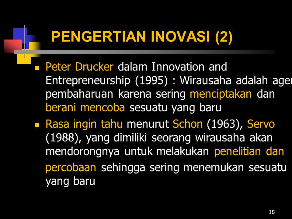 PENGERTIAN INOVASI (2)