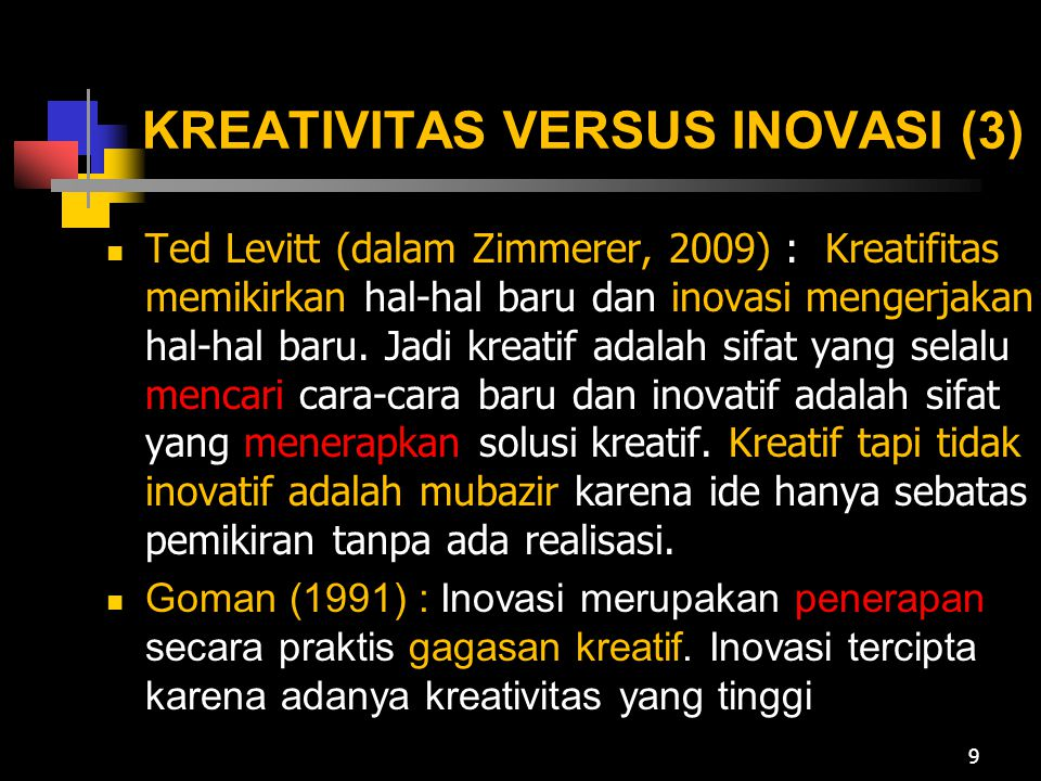 KREATIVITAS VERSUS INOVASI (3)