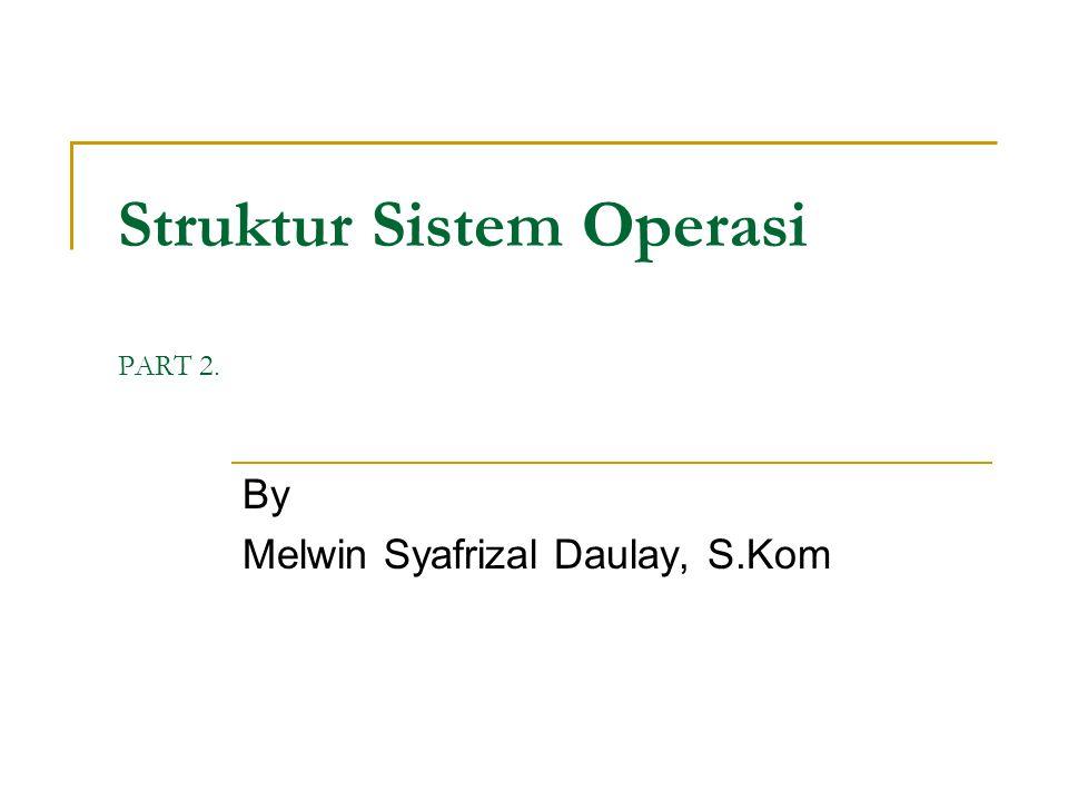 Struktur Sistem Operasi PART 2.