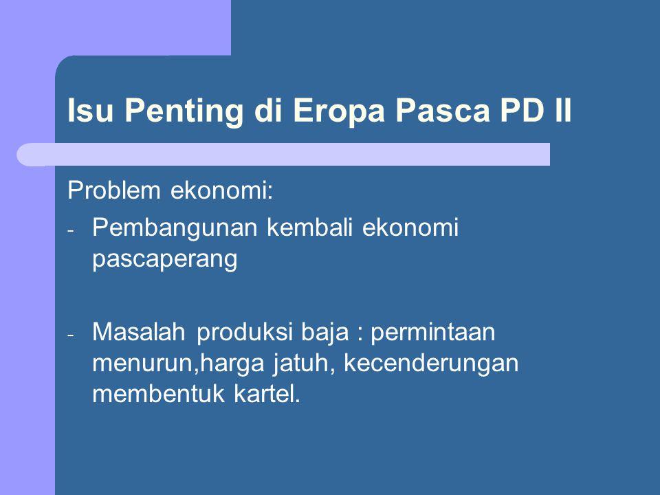 Isu Penting di Eropa Pasca PD II
