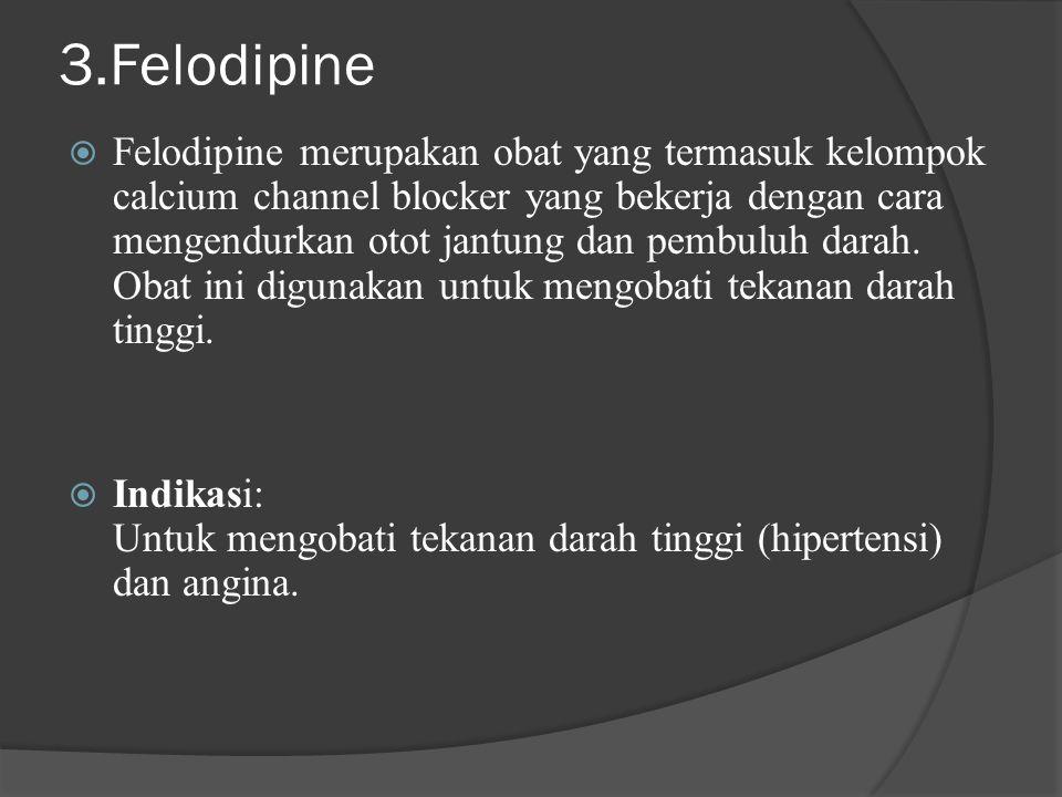 3.Felodipine