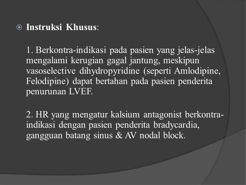 Instruksi Khusus: